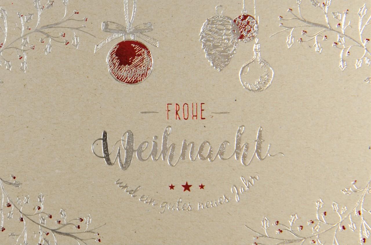 Weihnachtskarte - FW 17944