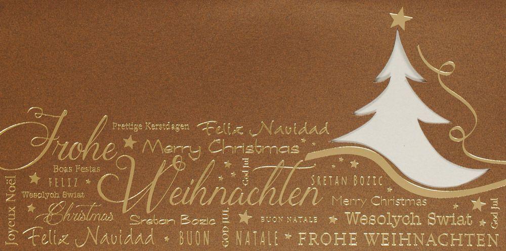 Weihnachtskarte - FW 18118