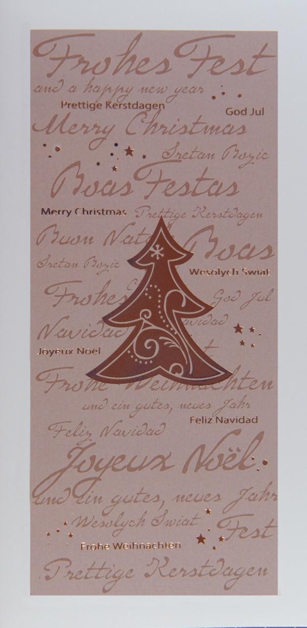 Weihnachtskarte - FW 17989