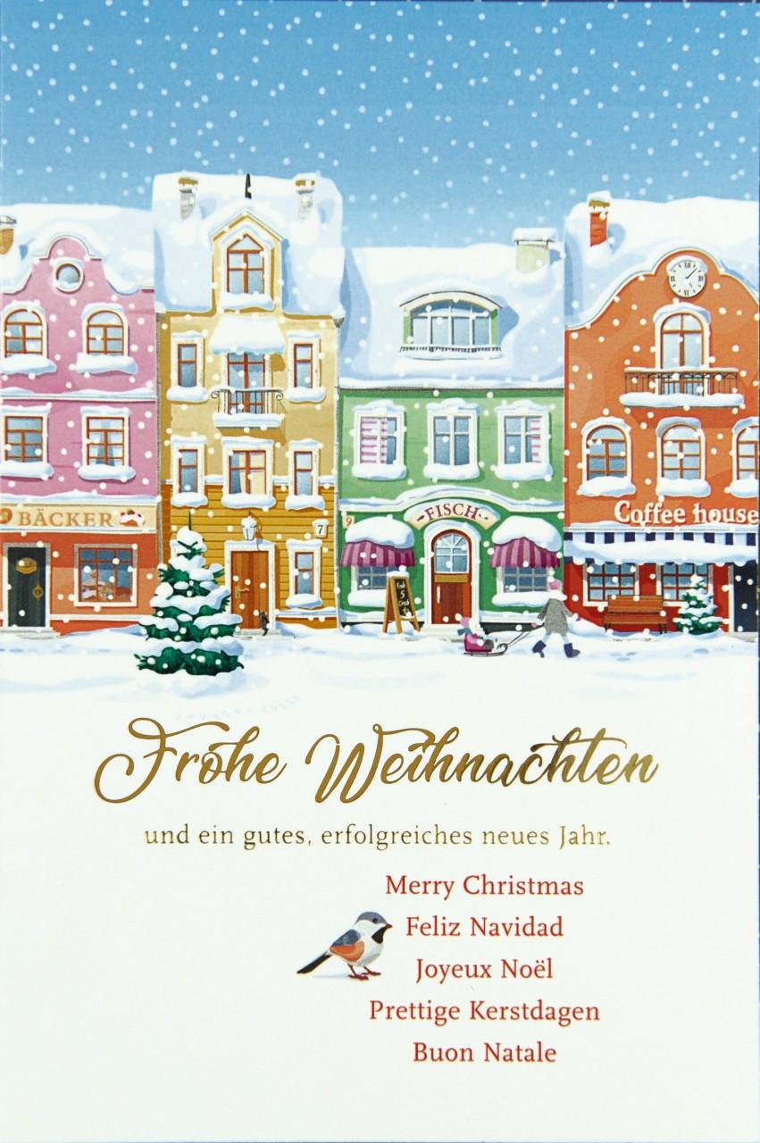 Weihnachtskarte - FW 17961