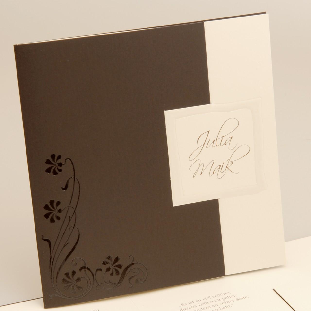 Einladungskarte - H 1664