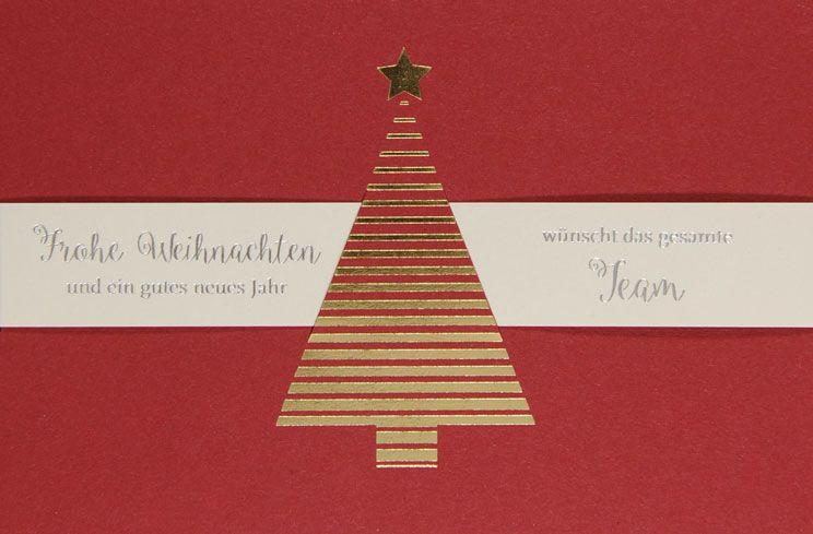 Weihnachtskarte - FW 18030