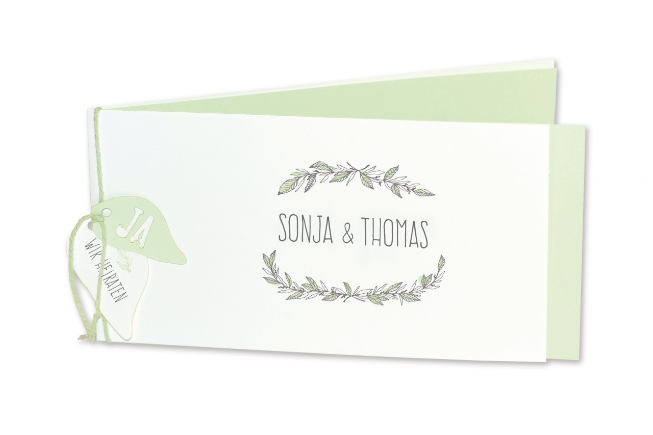 Einladungskarte - 17H123