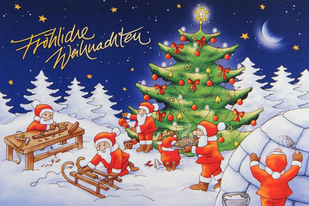 Weihnachtskarte - FW 17933