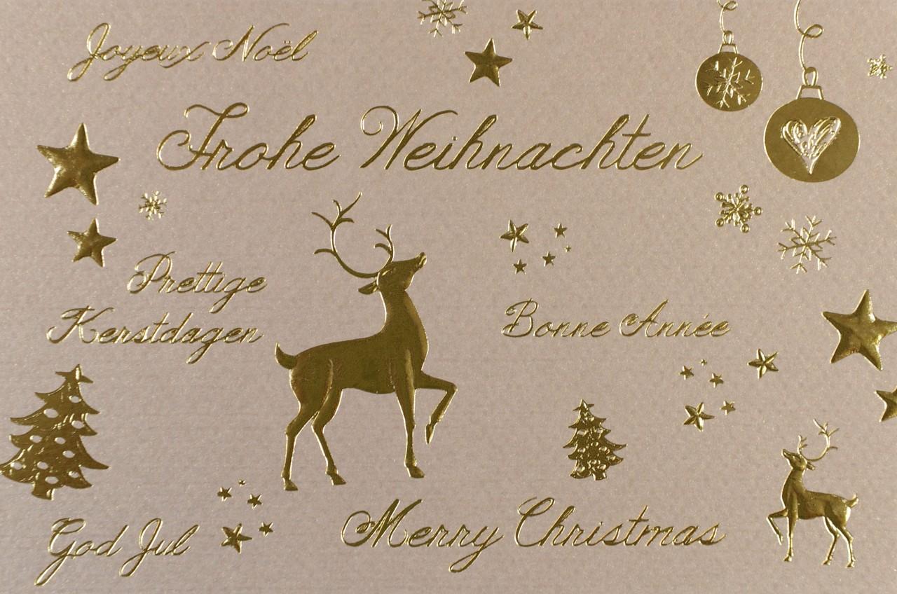 Weihnachtskarte - FW 17776