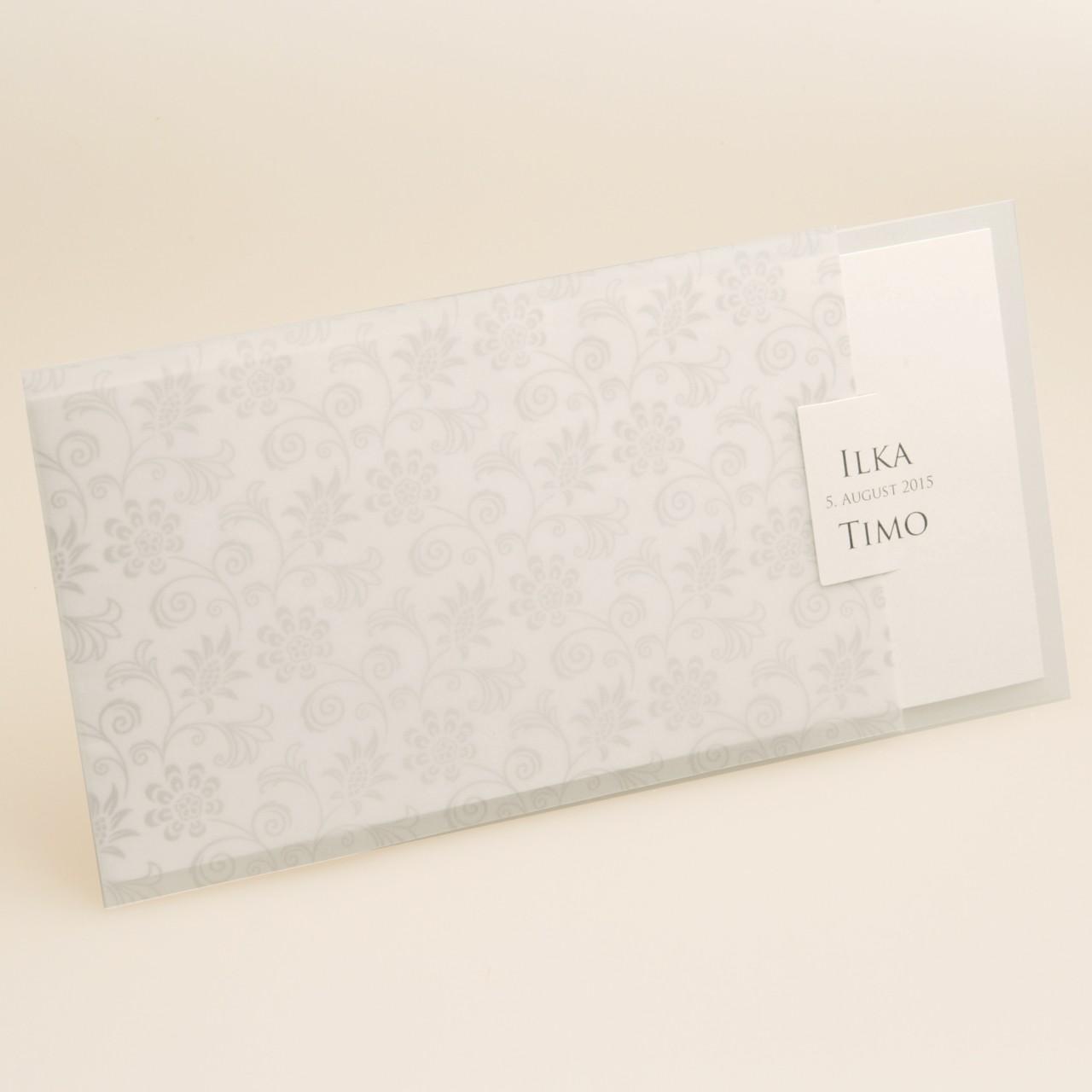 Einladungskarte - H 1878