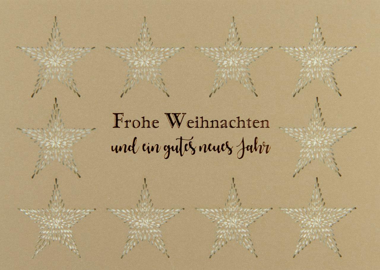 Weihnachtskarte - FW 18146