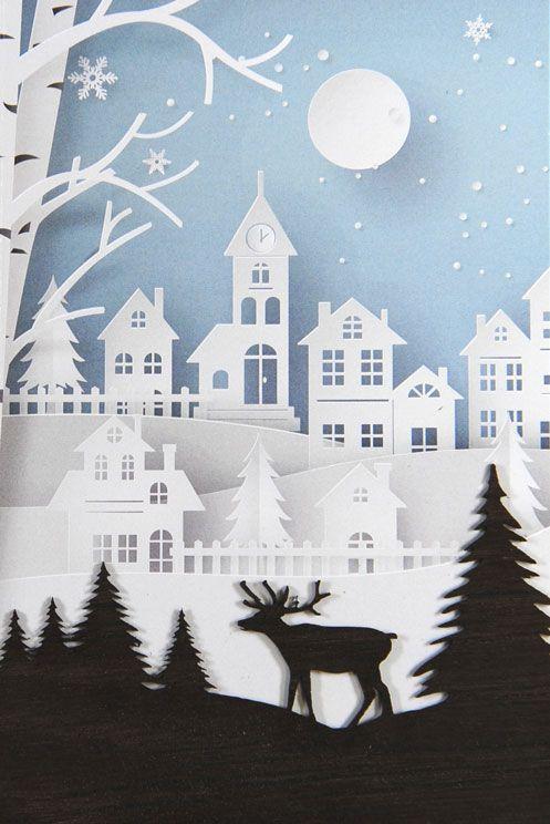 Weihnachtskarte - FW 18052
