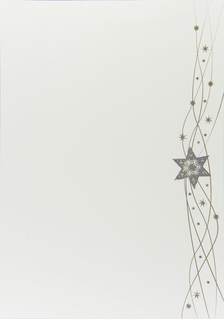 Unser Weihnachtsbogen mit Sternen zaubert allen Betrachtern und vor allem Empfängern mit Sicherheit ein Lächeln auf die Lippen.