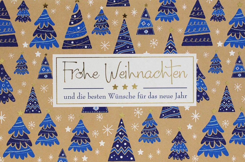 Weihnachtskarte - FW 18077