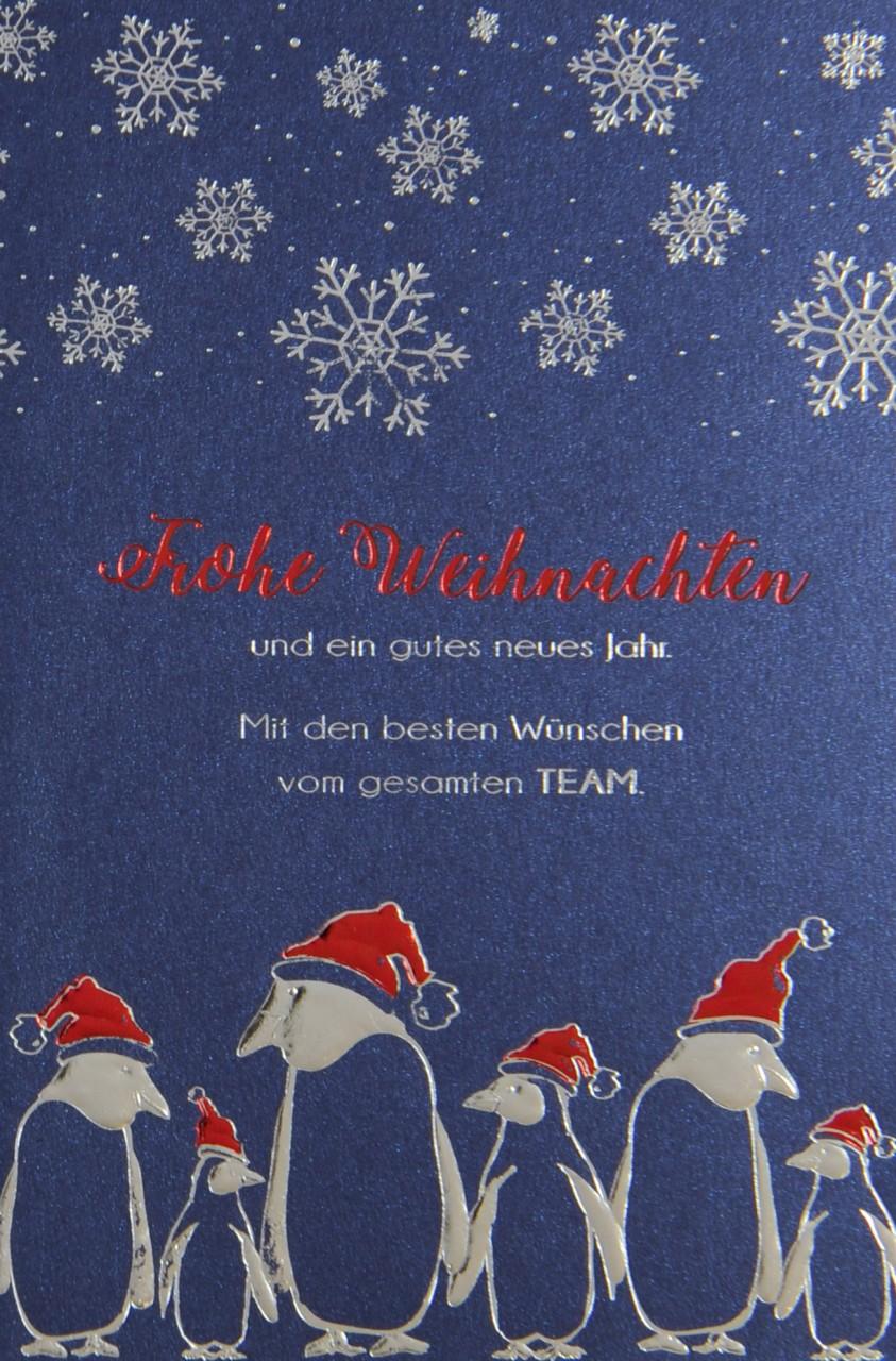 Weihnachtskarte - FW 17923