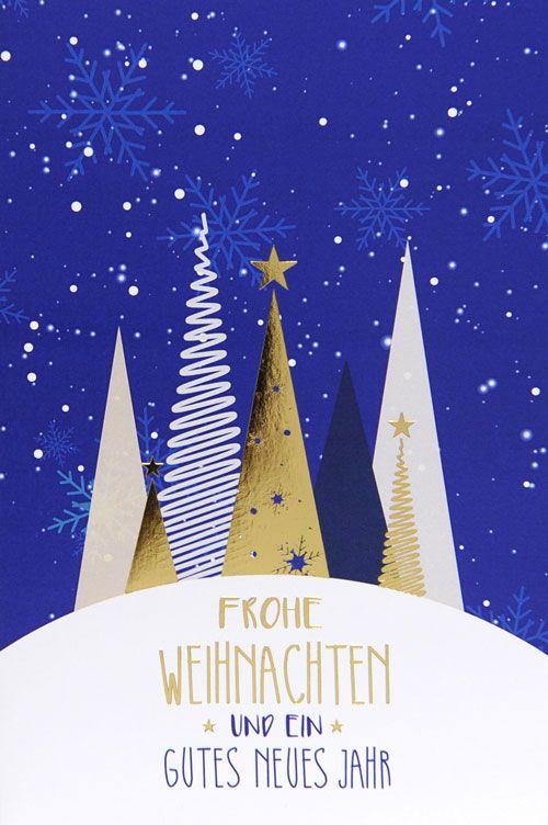 Weihnachtskarte - FW 18019