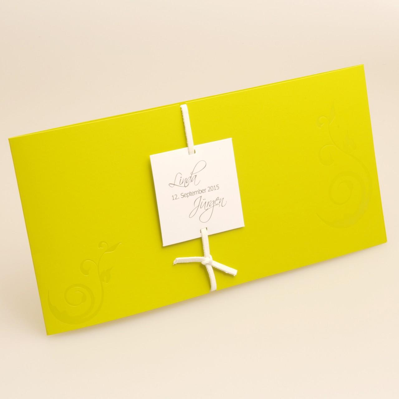 Einladungskarte - H 1802