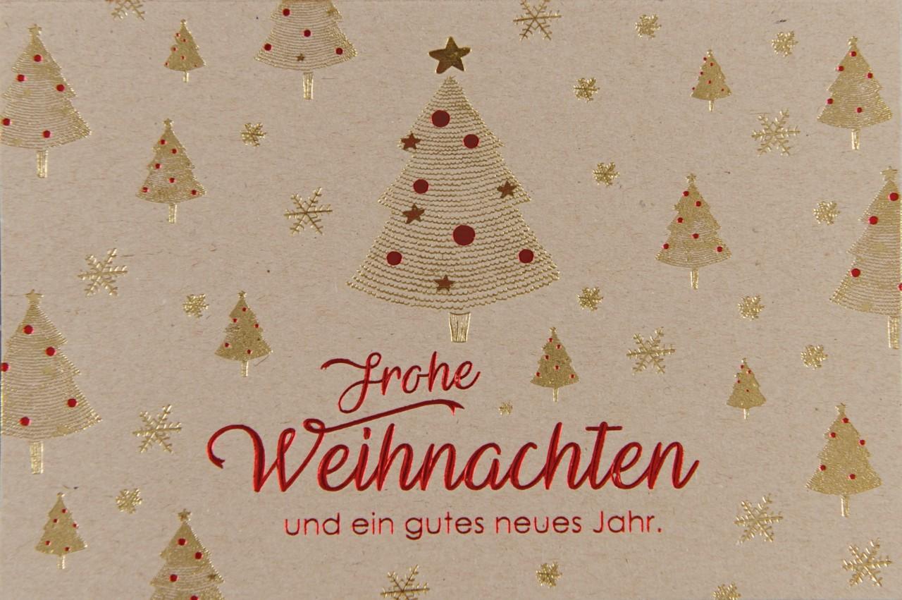 Weihnachtskarte - FW 17958