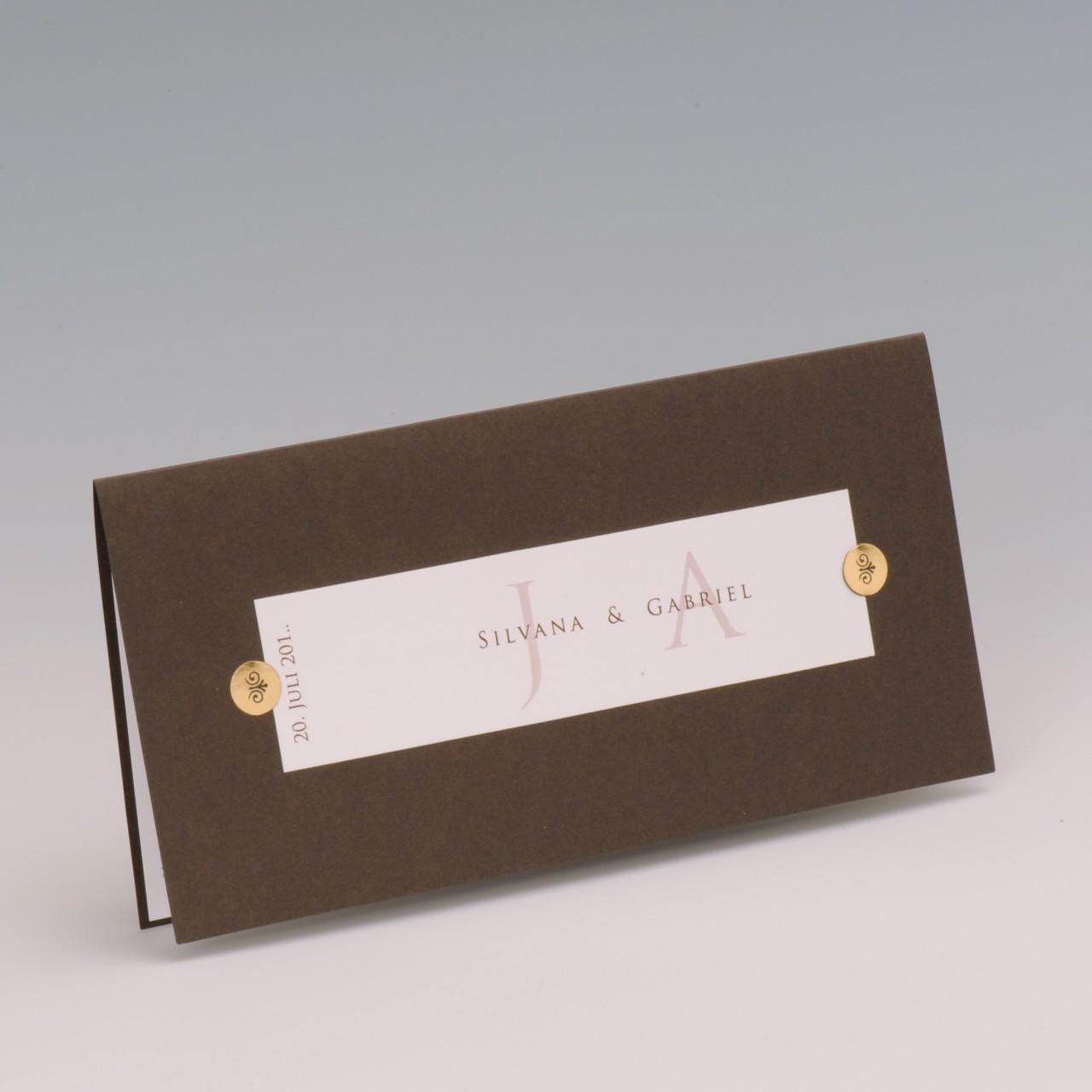 Einladungskarte - H 1928