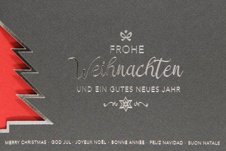 Weihnachtskarte - FW 18036