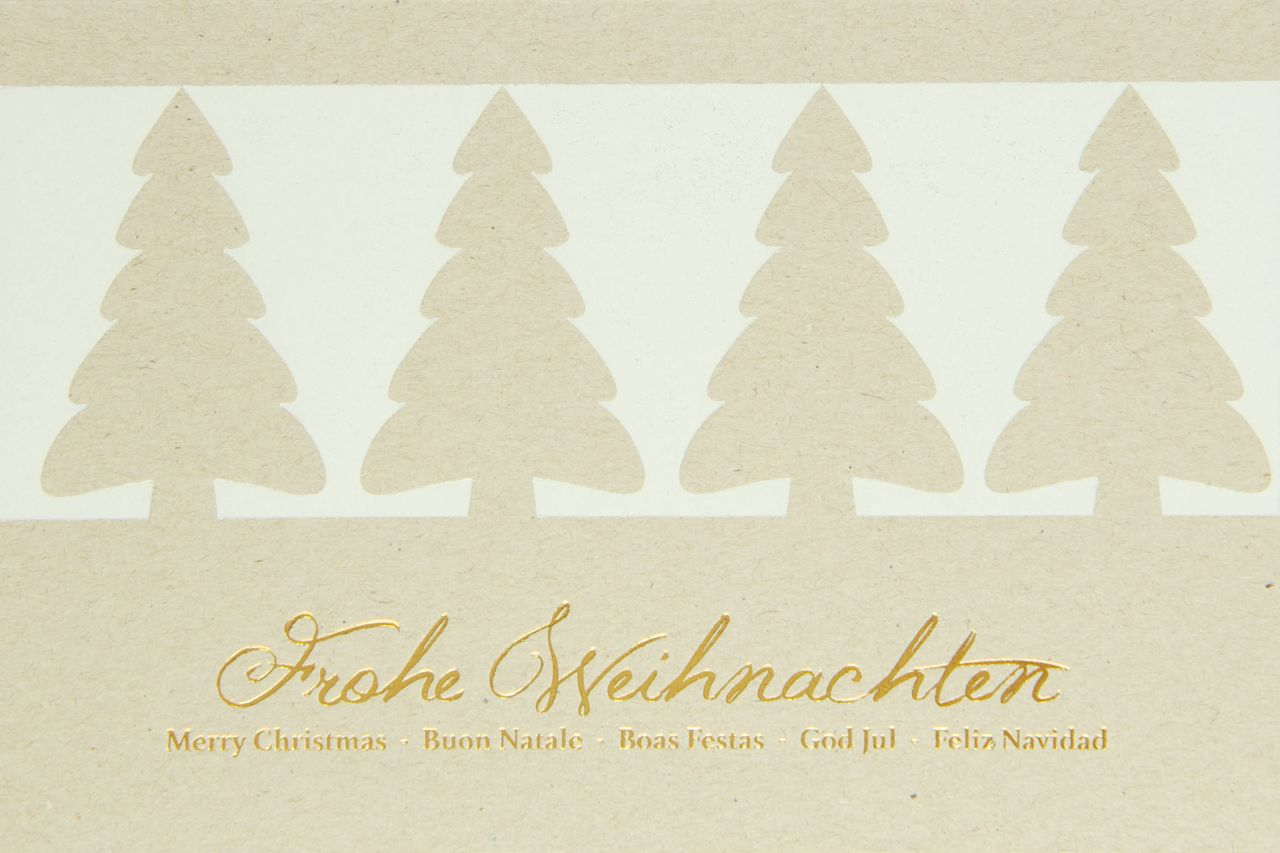 Weihnachtskarte - FW 18153
