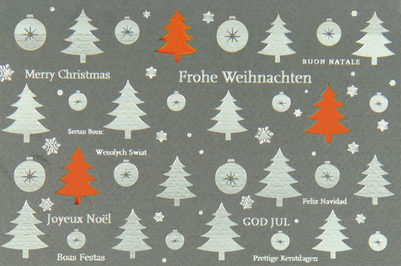 Weihnachtskarte - FW 18001