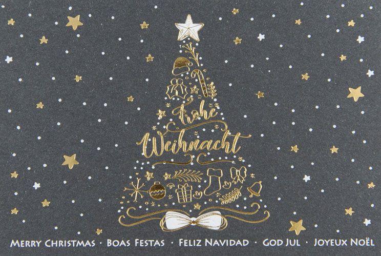 Weihnachtskarte - FW 18004