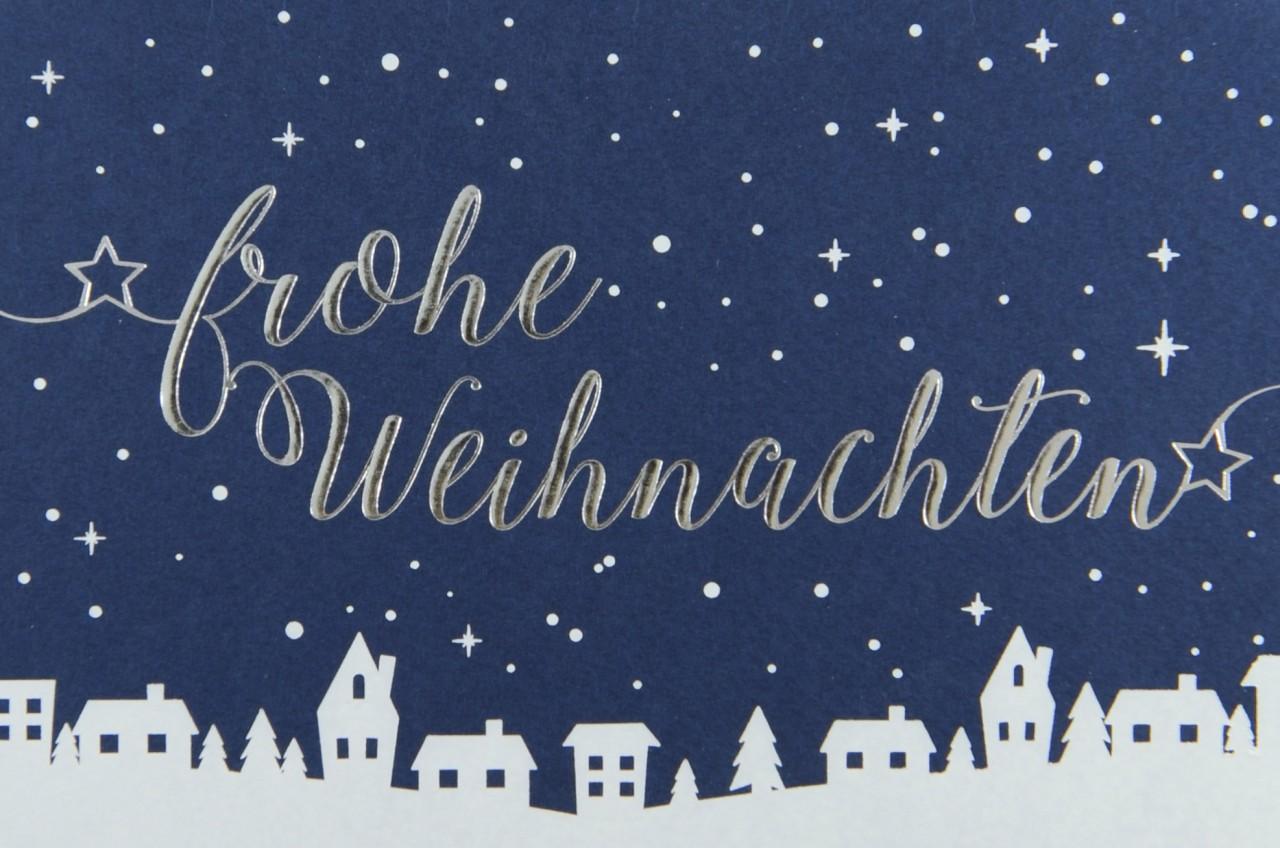 Weihnachtskarte - FW 17922