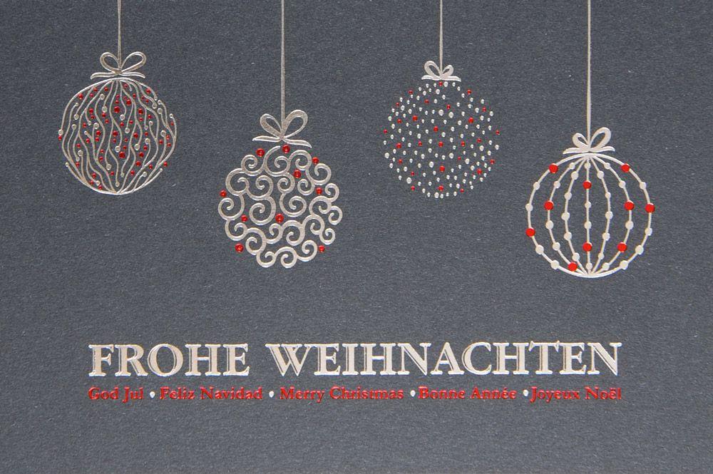 Weihnachtskarte - FW 18071