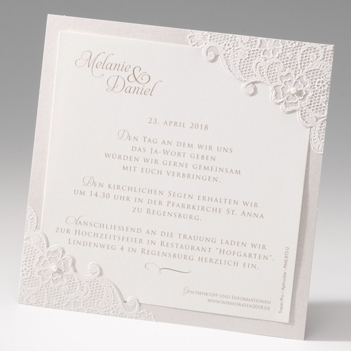 Einladungskarte - EX 725048