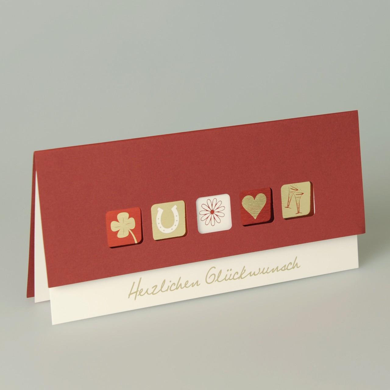 Glückwunschkarte - A 3800