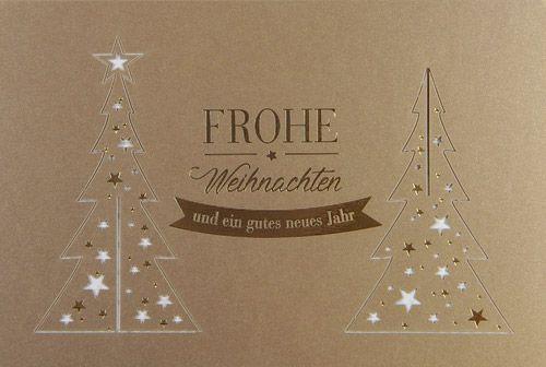 Weihnachtskarte - FW 18034