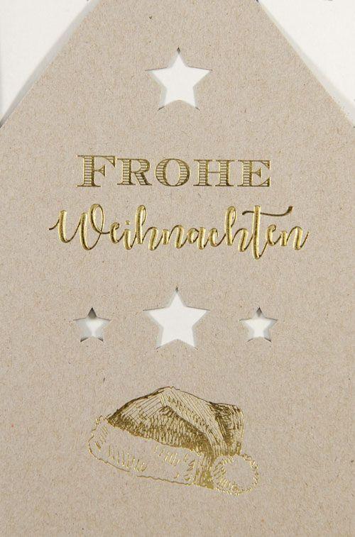 Weihnachtskarte - FW 18043