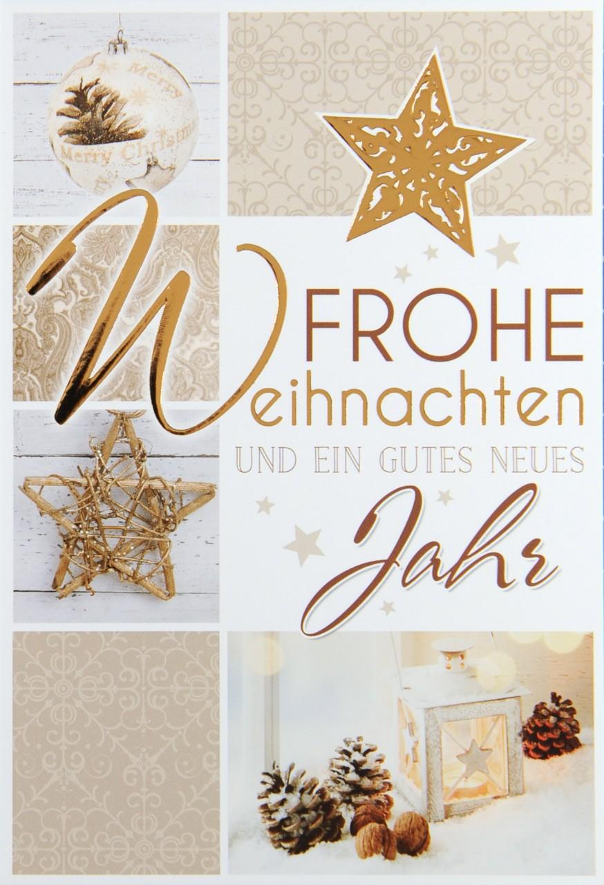 Weihnachtskarte - FW 13789