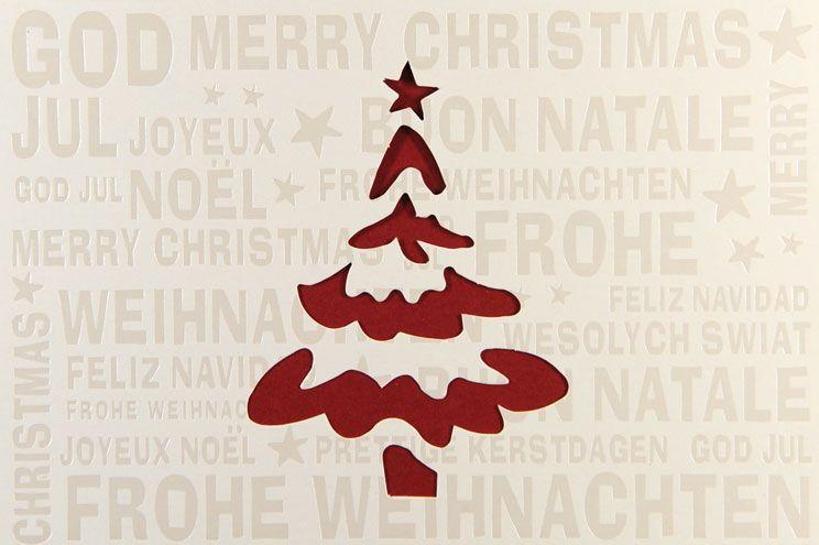 Weihnachtskarte - FW 18014