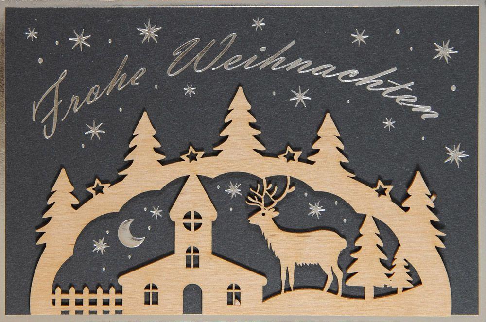 Weihnachtskarte - FW 18110