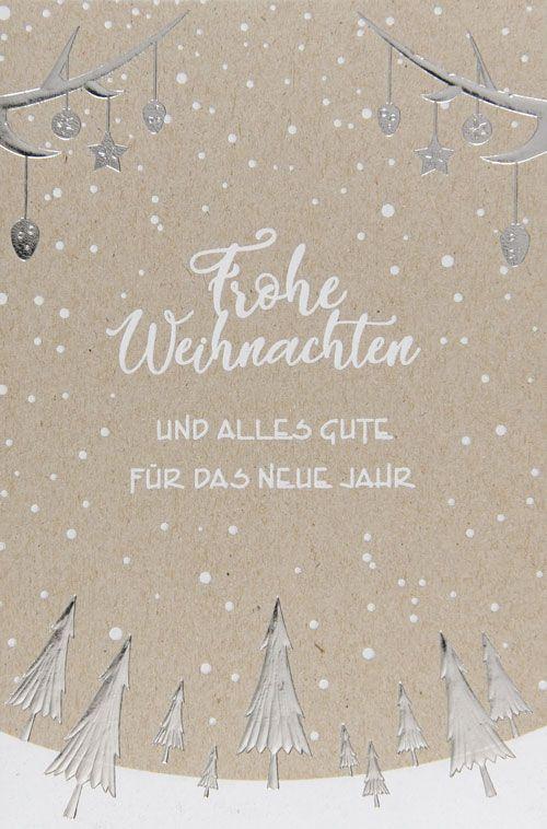 Weihnachtskarte - FW 18002