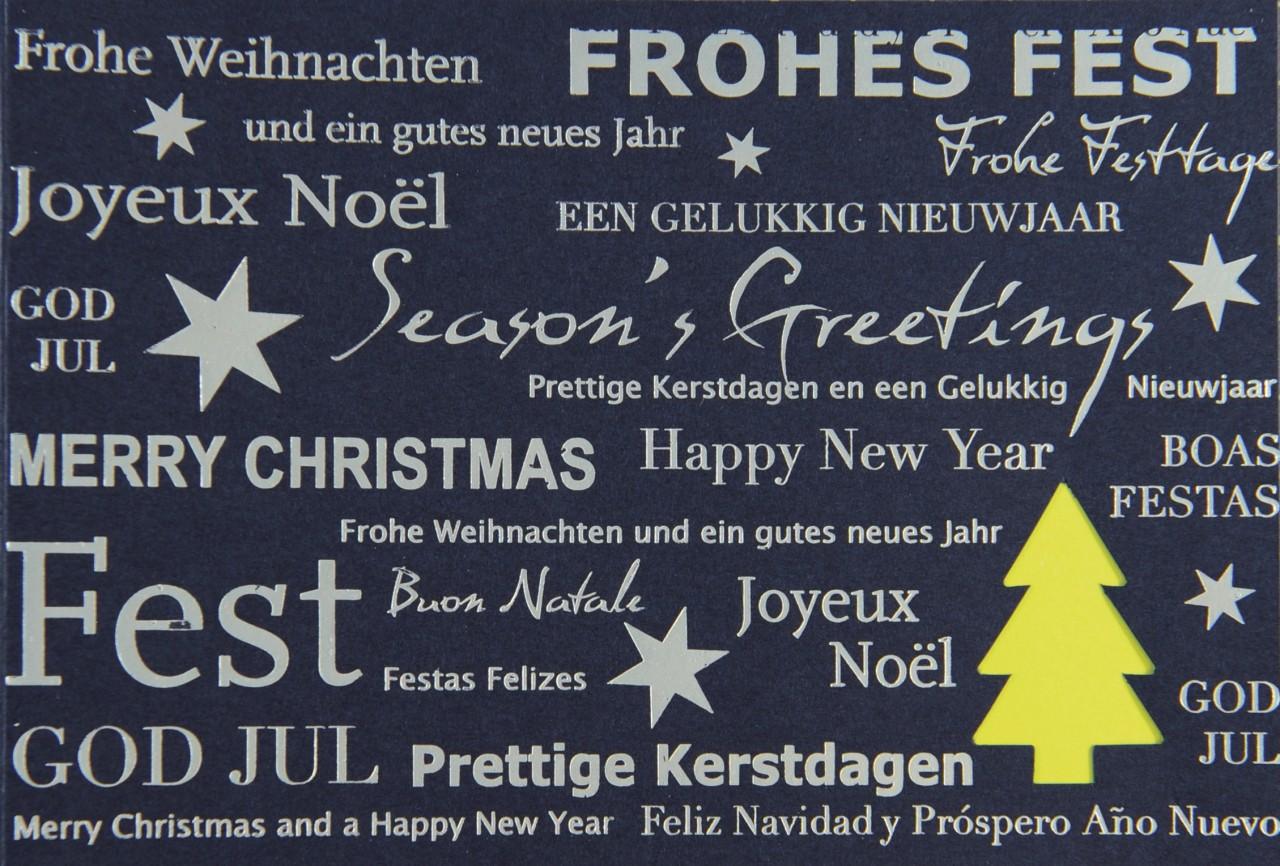 Weihnachtskarte - FW 17980