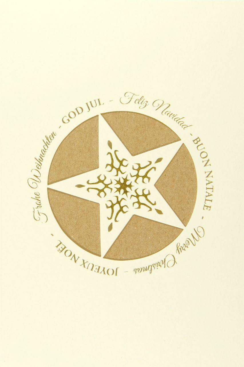 Weihnachtskarte - FW 18162