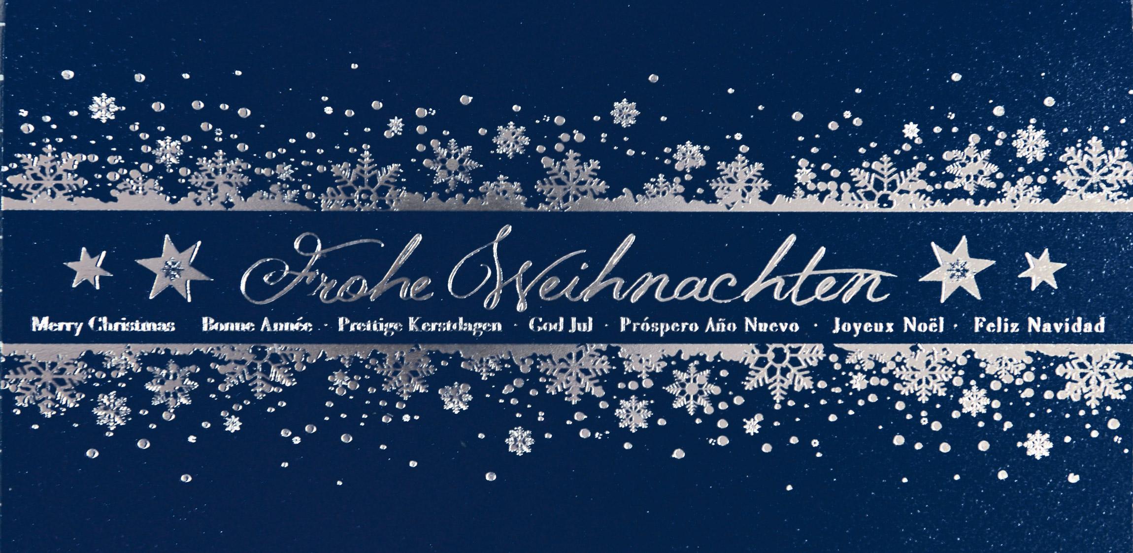 Weihnachtskarte - FW 5