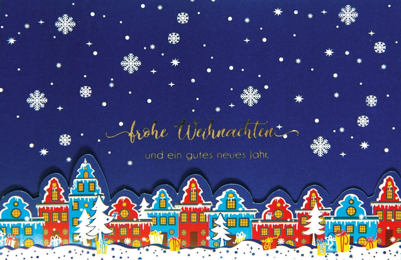 Weihnachtskarte - FW 17971