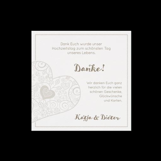 Dankkarte (4 Stück) - EX 726551