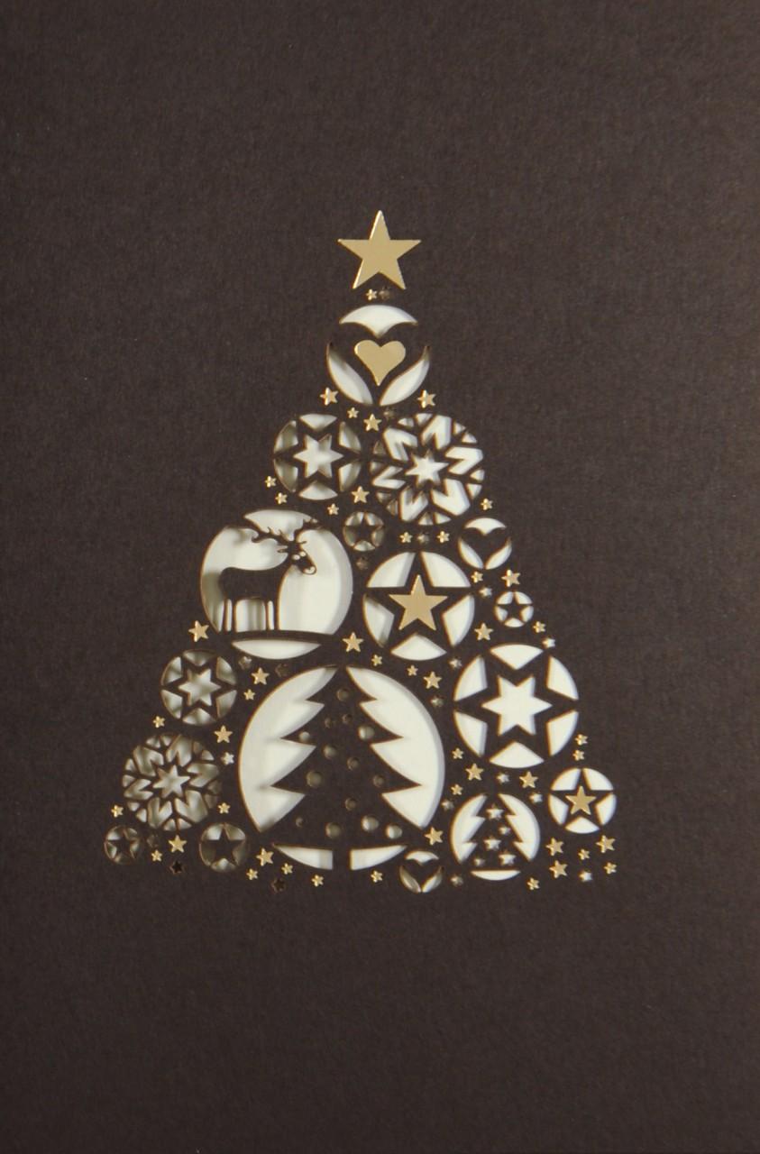 Weihnachtskarte - FW 17916