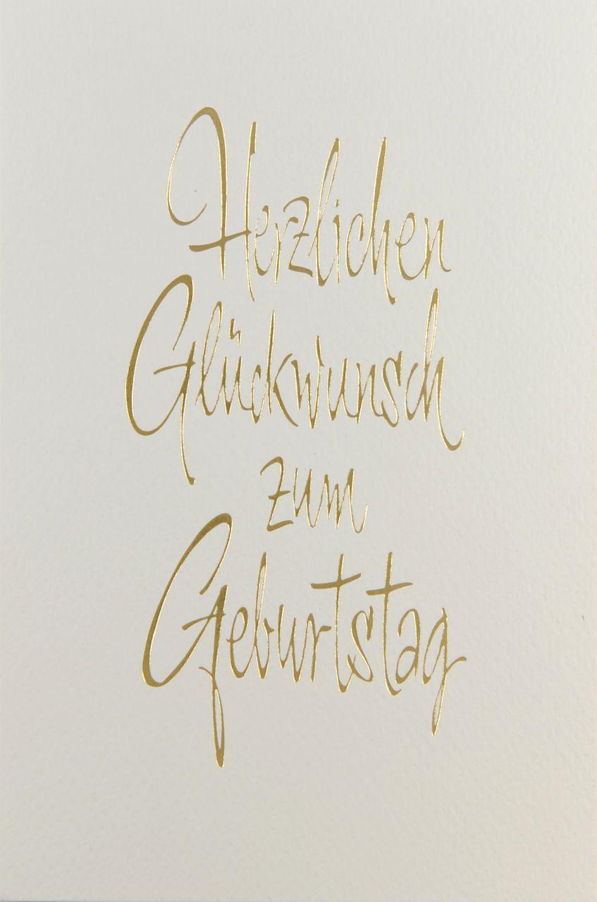 Glückwunschkarte - A 2174