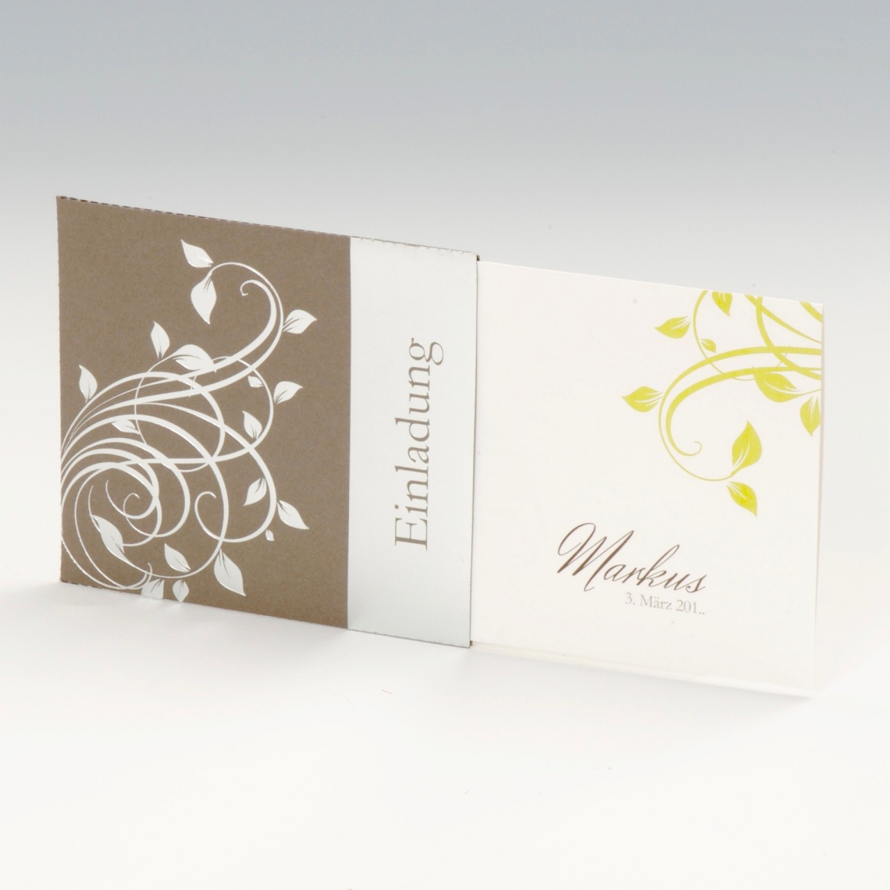 Einladungskarte - A 2072
