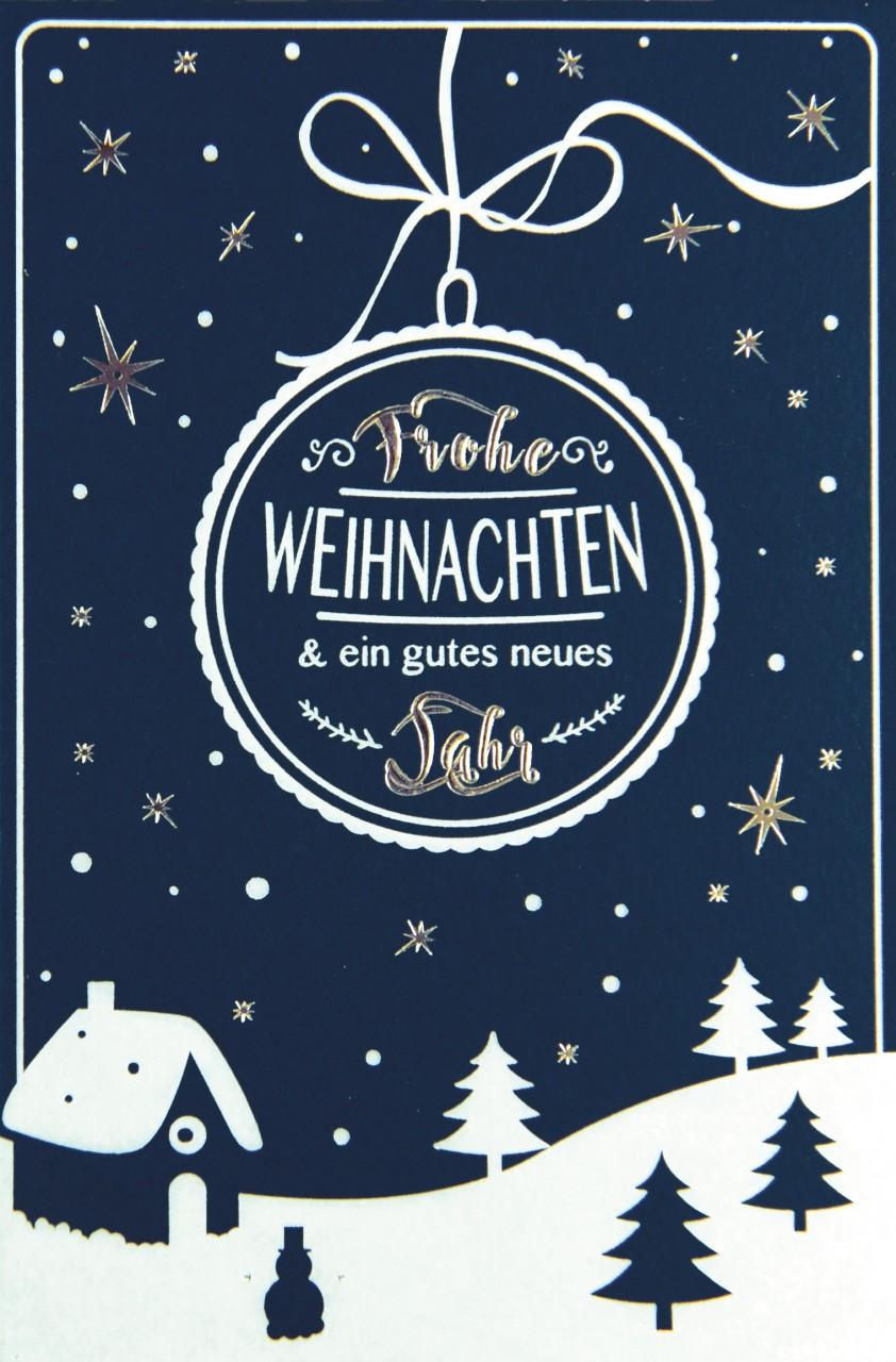 Weihnachtskarte - FW 17960