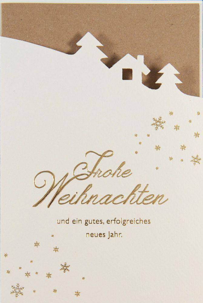 Weihnachtskarte - FW 18113