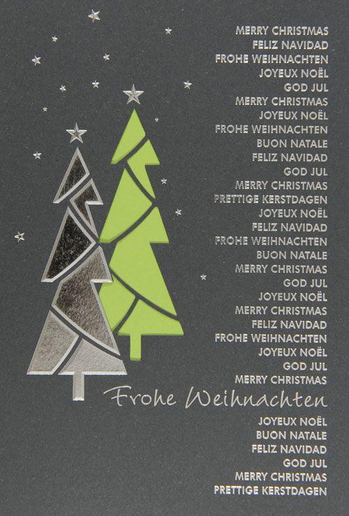 Weihnachtskarte - FW 15956