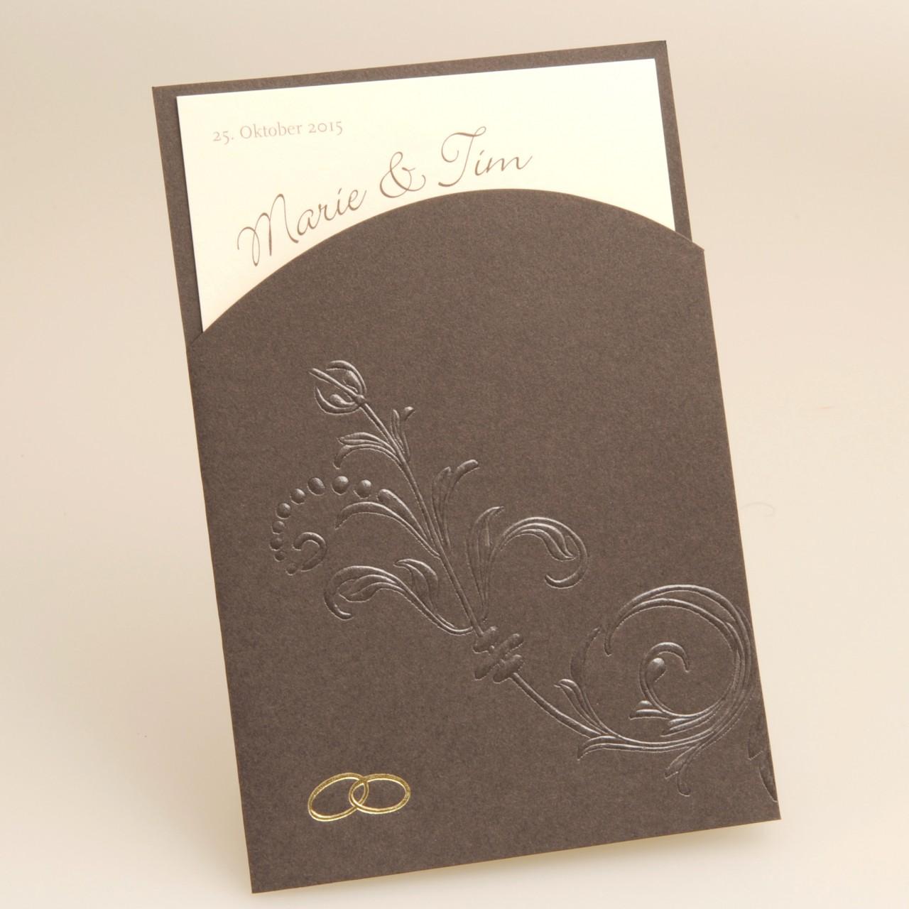 Einladungskarte - H 1842