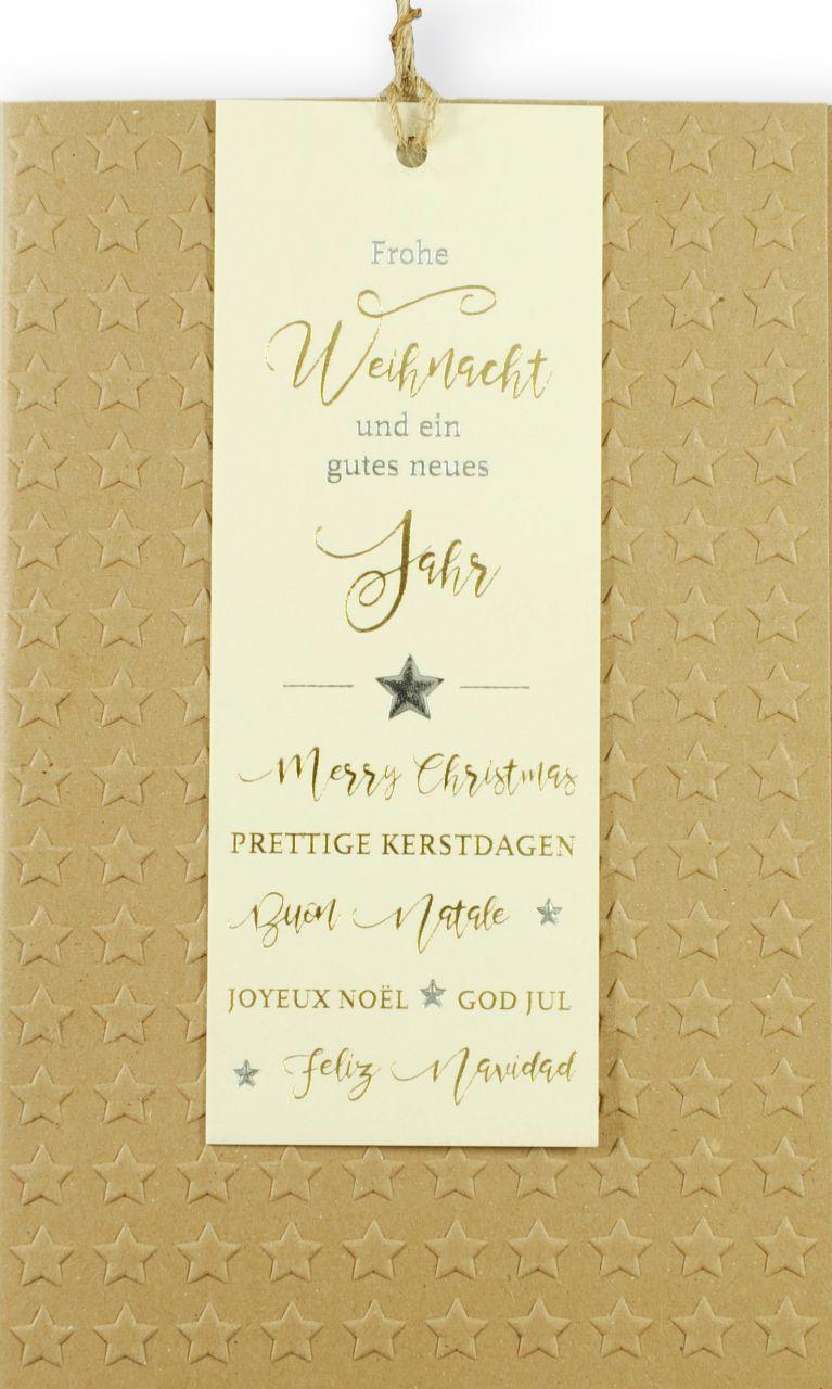 Weihnachtskarte - FW 18142