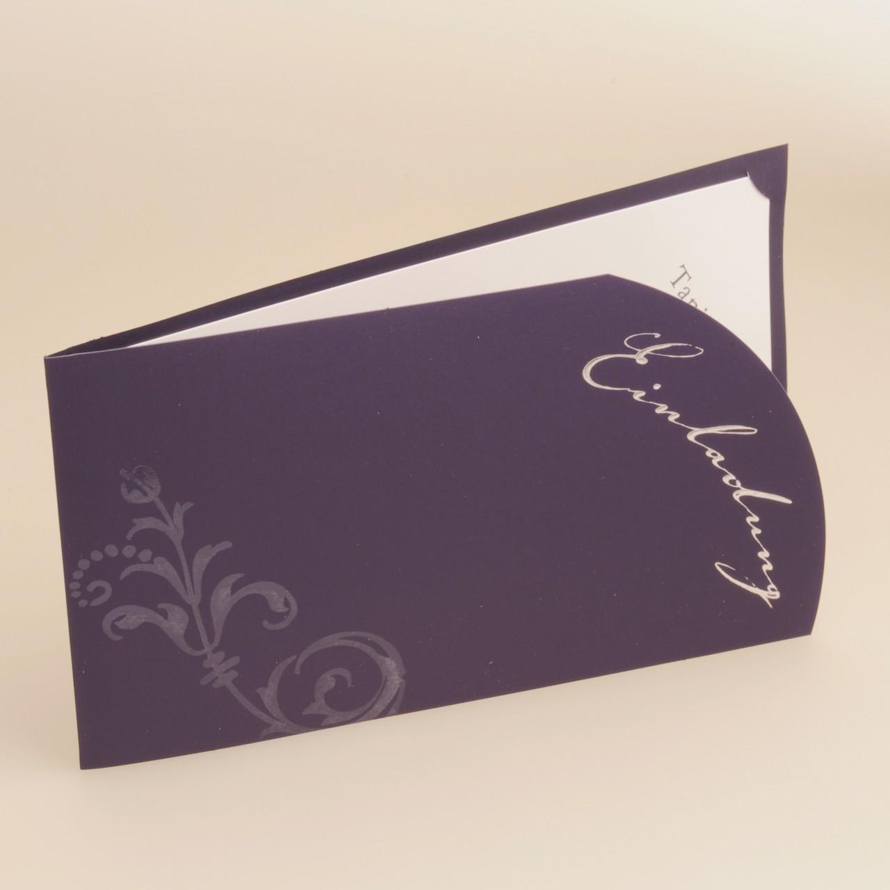 Einladungskarte - H 1800