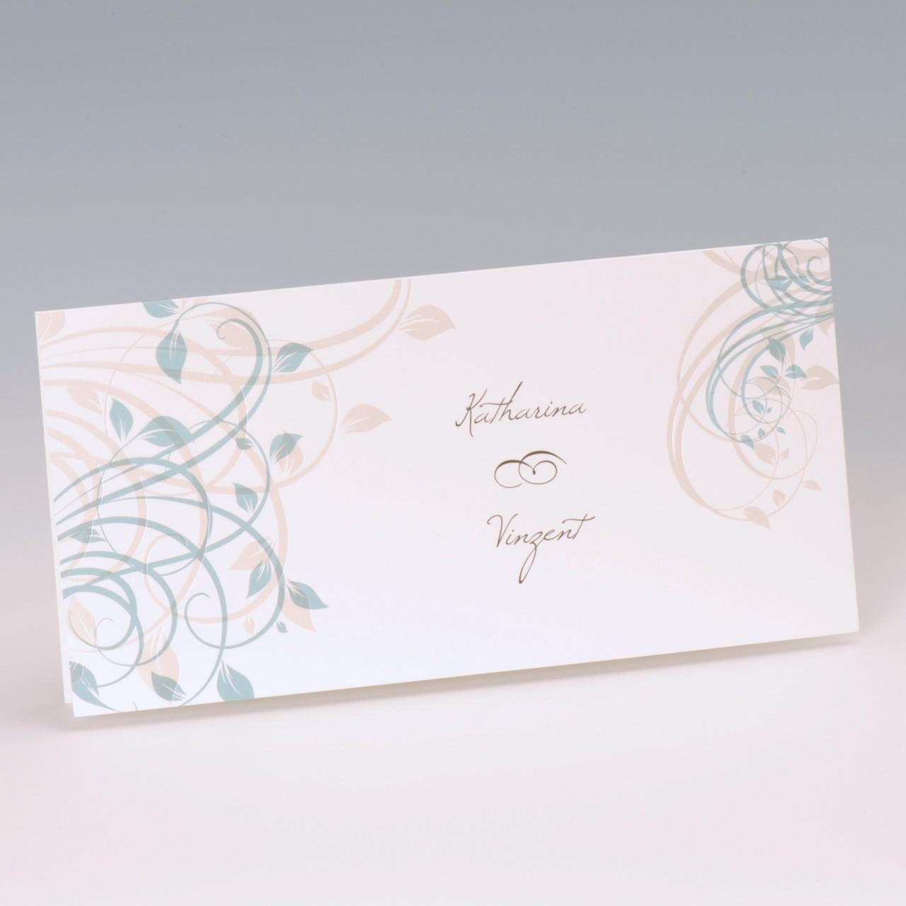 Einladungskarte - H 1934