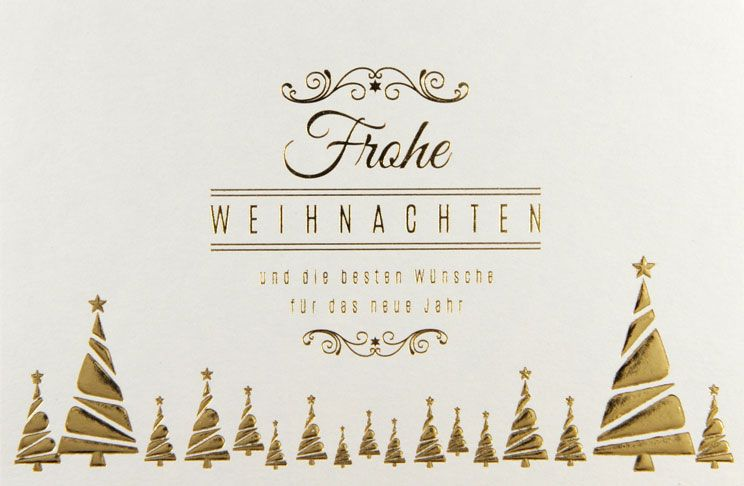 Weihnachtskarte - FW 18037