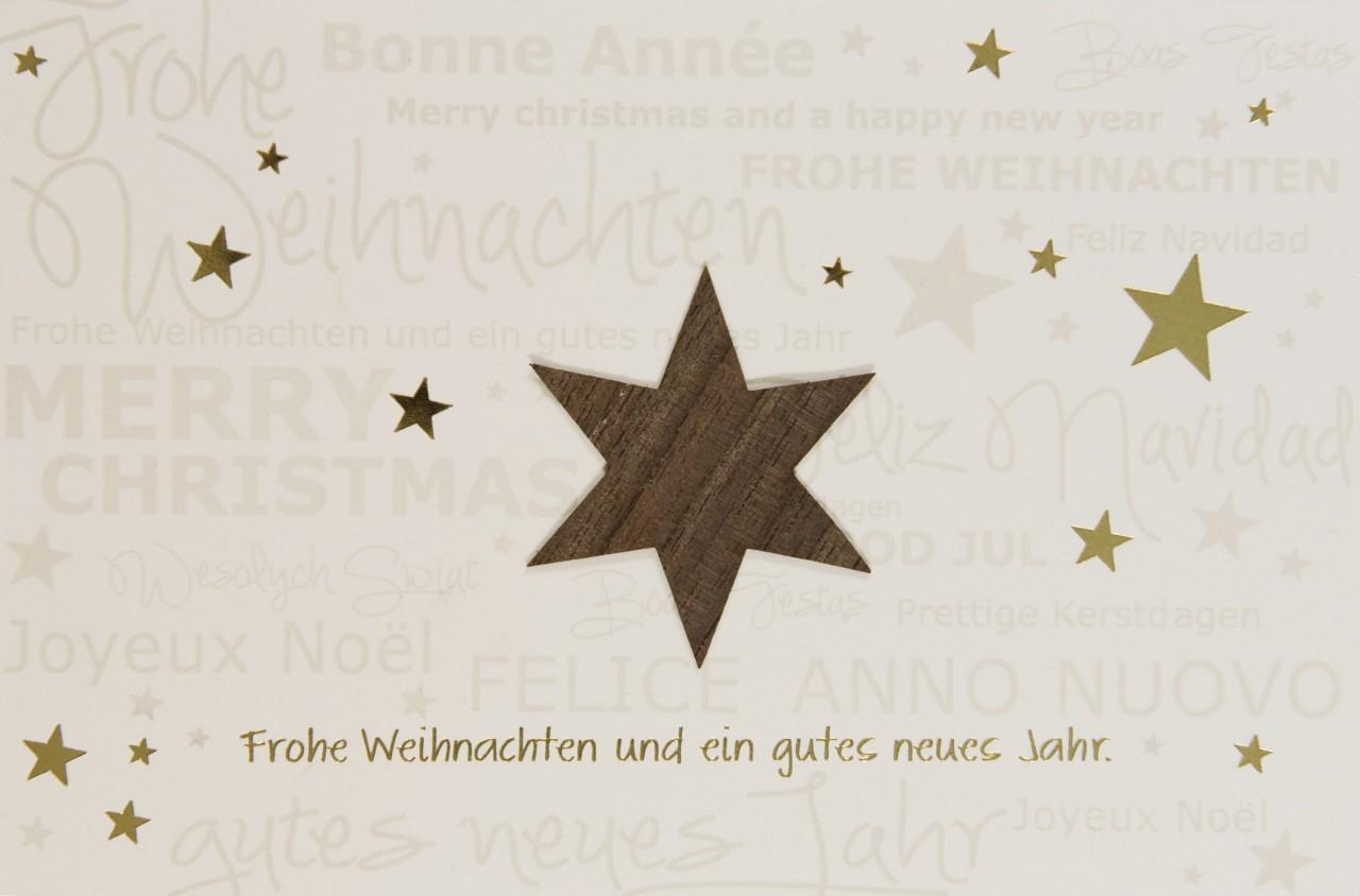 Weihnachtskarte - FW 17988